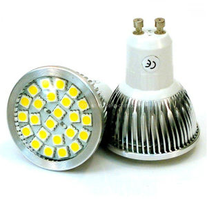 New 2700k Epistar Dimmable 24 5050 SMD GU10 LED Bulb Light pictures & photos