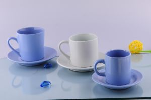 Ceramic Cappuccino Cup&Saucer (CZJM2130) pictures & photos