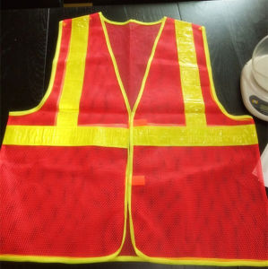 High Quality Roadway Warning Reflective Safety Vest pictures & photos