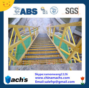 FRP Anti-Slid Stair Tread/GRP Stair Tread/Fiberglass Stair Tread pictures & photos