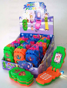 Flash Musical Mobile Phone Toy Candy (110601) pictures & photos