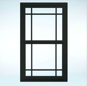 UPVC Windows Double Hung Single Glass pictures & photos