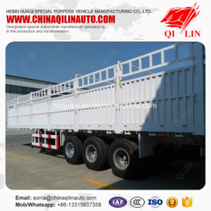 Gross Weight 40 Tons Storage Fence Box Semi Trailer for Sale pictures & photos