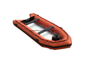 Aqualand 17feet 5m Rescue Rubber Boat/Semi-Rigid Inflatable Dinghy (500) pictures & photos