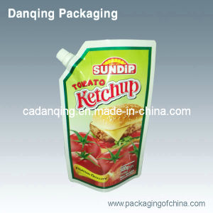 Ketchup Packaging Bag, Stand up Pouch with Spout (DQ236) pictures & photos