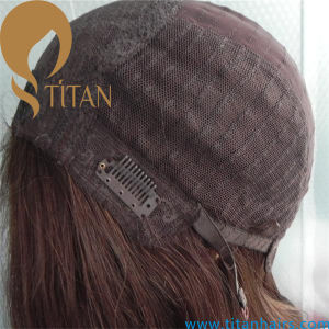 Wholesale Virgin Human Hair Swiss Lace Full Lace Wig pictures & photos