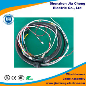 Customized OEM Wiring Harness Coaxial Cable for Power Supply Assembly pictures & photos