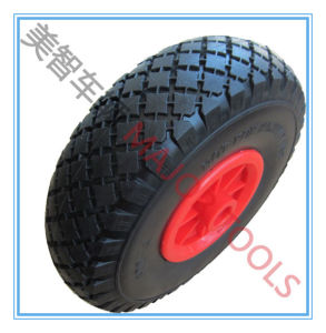 Factory Price 3.00-4 PU Foam Tyre Tool Cart Wheel pictures & photos
