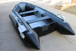 10 People Inflatable Boat PVC Fishing Boat Inflatable Rescue Rowing Boat for Sale pictures & photos