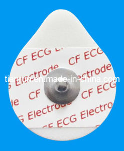 Disposable ECG Monitoring Electrode, PE Foam Backing, 30*36mm pictures & photos