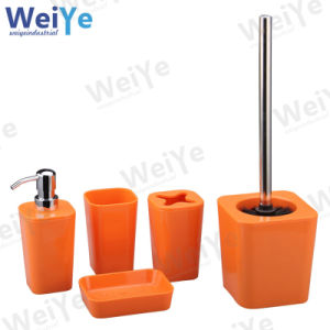 Bathroom Accessory with Quadrate Tapered Part (WY1005 Orange)