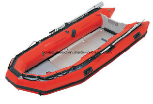 Aqualand 18feet 4.7m Semi-Rigid Inflatable Rescue Boat/Hypalon Rubber Boat (aql-470) pictures & photos