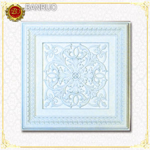 Banruo PU Decorative Wall Panel Square (BRBH60-1-Q) pictures & photos