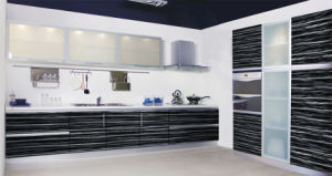 2012modern Acrylic Demet MDF Board Kitchen Cabinet pictures & photos