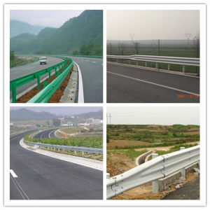 Ce Certificate Hot DIP Galvanized Highway Guardrail for Road Safety pictures & photos