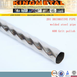 ASTM A270 304/316L High Polished Welded Stainless Steel Decorative Pipe pictures & photos