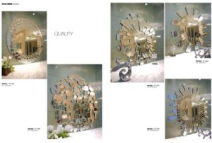 Decorative Silver Mirror Hand-Made Glass Mirror pictures & photos
