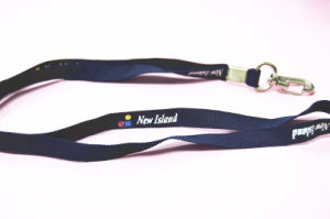 Factory Logo Print ID Card Ribbon Lanyard Strap pictures & photos