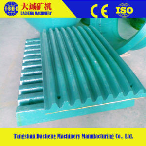 Casting Crusher Spare Parts Manganese Steel Jaw Plate pictures & photos