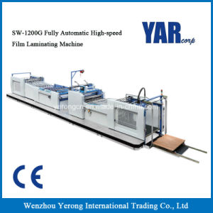 Sw-1200g Fully Automatic High Speed Film Laminating Machine with Ce pictures & photos