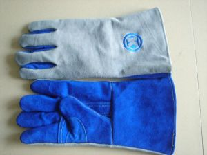 Welding Protection Product Security Gloves pictures & photos