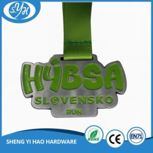 Metal Gold Plated Sports Medal with Customized 3D Logo pictures & photos