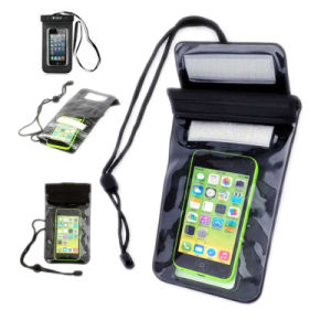 Universal Swimming Waterproof Phone Bag Case with Strings pictures & photos