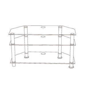 Modern Furniture Corner TV Stand pictures & photos
