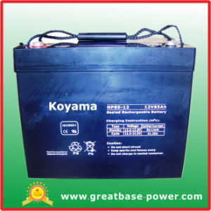 Hot Sale Lead Acid AGM UPS Battery 85ah 12V pictures & photos