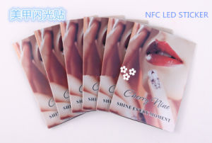 Creative Nfc Chip Nail Art Stickers Tips Lighting Nail Decal Scintillation Decor pictures & photos