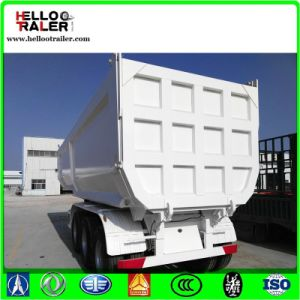 Tri Axles U Shape Tipper Dump Trailer pictures & photos