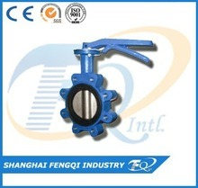 China Wholesale Cheap Ductile Iron Butterfly Valve pictures & photos