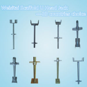 High Quality Galvanized Scaffoldding U Head Jacks