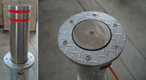 Automatic Pneumatic Rising Parking Bollard pictures & photos