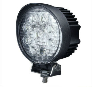 27W 2200lm Factory LED Working Light Round Shape pictures & photos