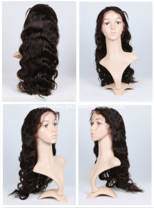 "Full Lace Wig 22"" 1b# Wave (MTL-HAIR-0034)"