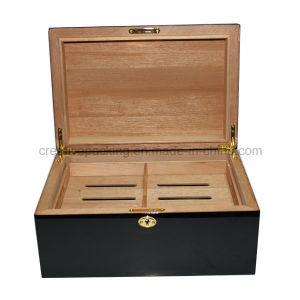 New Arrival Spanish Cedar Wood Cigar Humidor pictures & photos