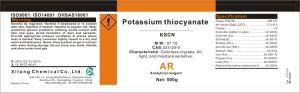 Potassium Thiocyanate Technical Grade Kscn CAS No#333-20-0 pictures & photos