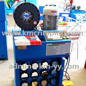 Hose Crimping Machine for Hydraulic Hose 51mm 4sp to Bulgaria pictures & photos