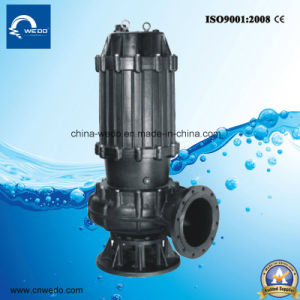 Qw Series Electric Submersible Sewage Water Pump for Dirty Water pictures & photos