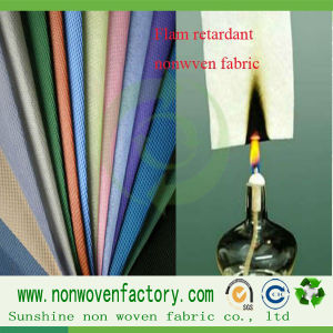 PP Nonwoven Fabric Flame Retardant Fabric pictures & photos
