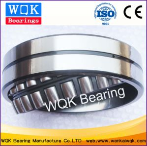 Wqk Bearing 23024 Cc/W33 Steel Cage Spherical Roller Bearing pictures & photos