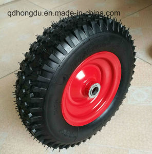 Wheel Barrow/ Inflatable Boat Used Rubber Pneumatic Wheel pictures & photos