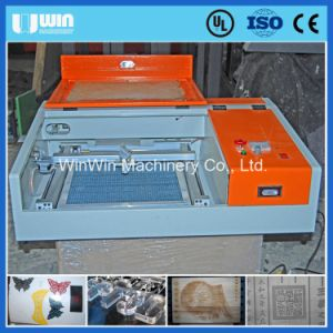 High Precision 4040 Small Wood Laser Cutting Machine pictures & photos
