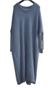 New Mohair Ladies Long Loose Knit Sweater pictures & photos