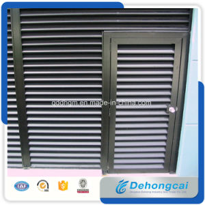 Air Conditioning Waterproof Aluminium Exterior Louver/Air Conditioning Weather Louver pictures & photos