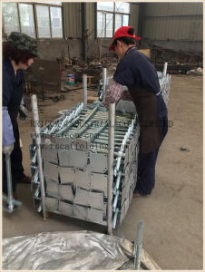 Galvanized Solid Scaffolding Base Jack pictures & photos