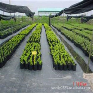 China Supplier Nonwoven Fleece Weed Mat pictures & photos