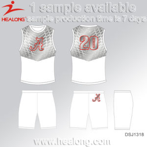 Healong No MOQ Sportswear Dye-Sublimation Printing Cycling Jersey pictures & photos