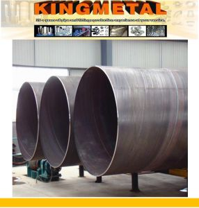 ASTM A572 Gr 50 Saw Steel Piling Pipe pictures & photos